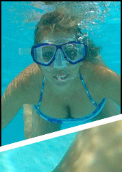 Amber underwater photos from Amber at Home
