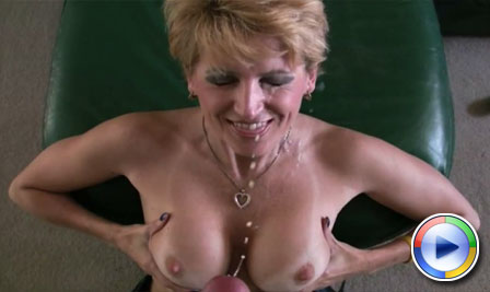 Racquel Devonshire gives the grocery boy a BIG naughty tip! from Racquel Devonshire