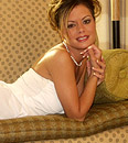 Crissy Moran flashes her sweet pussy through a white summer dress from Crissy Moran